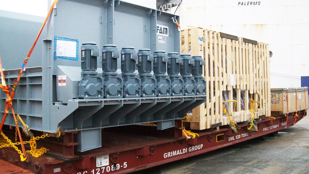 RoRo Shipping Project Cargo