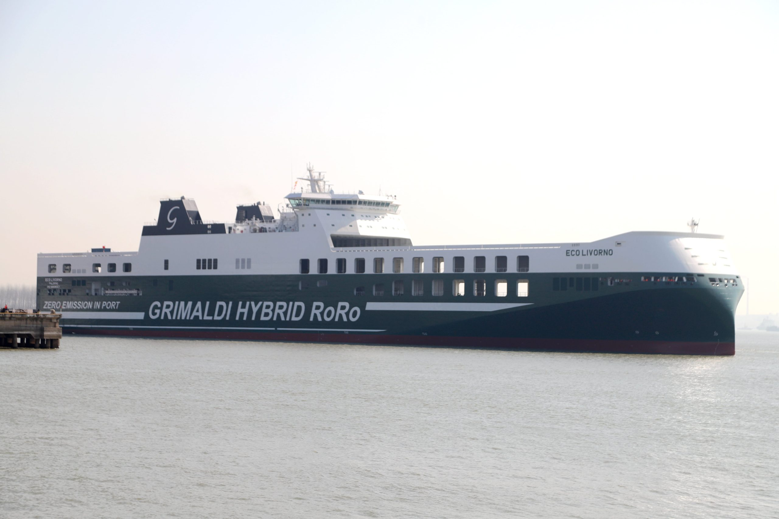 Eco Livorno - the innovative Grimaldi Green 5th Generation (GG5G) class