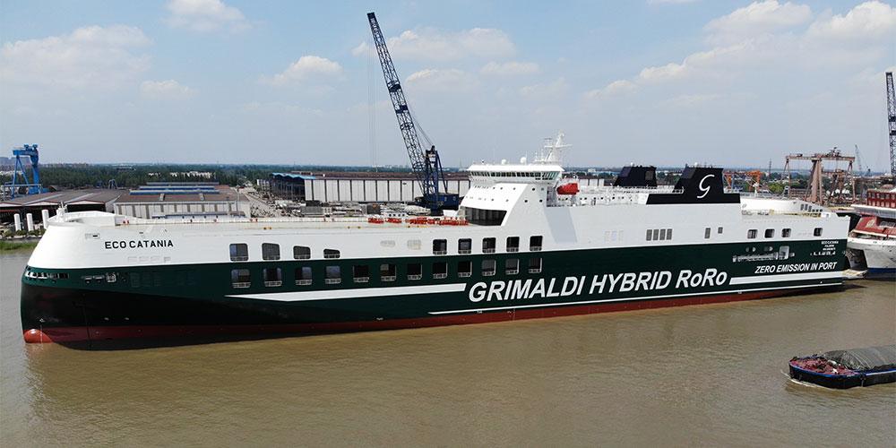 ECO Catania Grimaldi Green 5th Generation (GG5G)